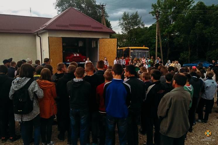 На Тернопільщині стало ще на одну сільську пожежну команду більше