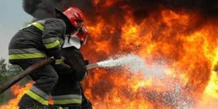 На Вінниччині згоріло кафе