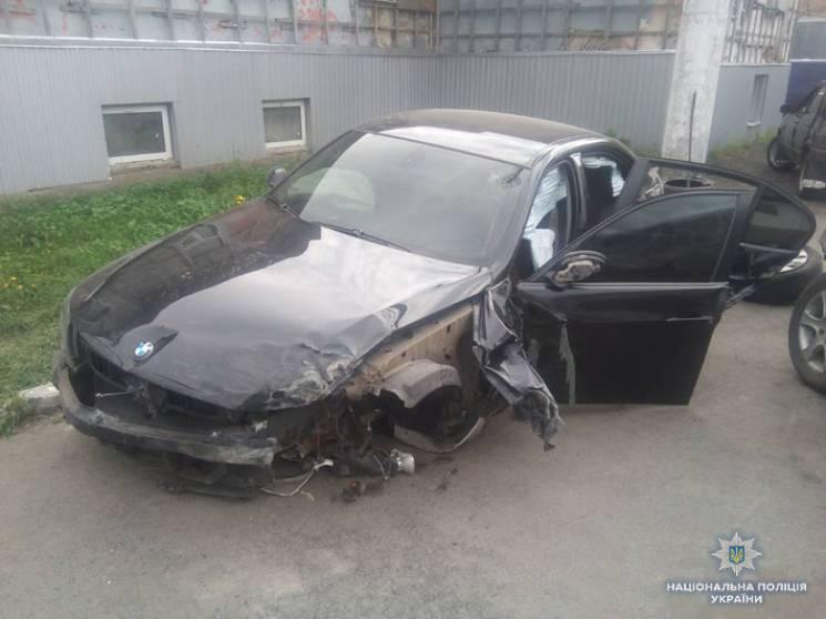 На Чернігівщині двоє пасажирів нетверезого водія потрапили до лікарні через ДТП