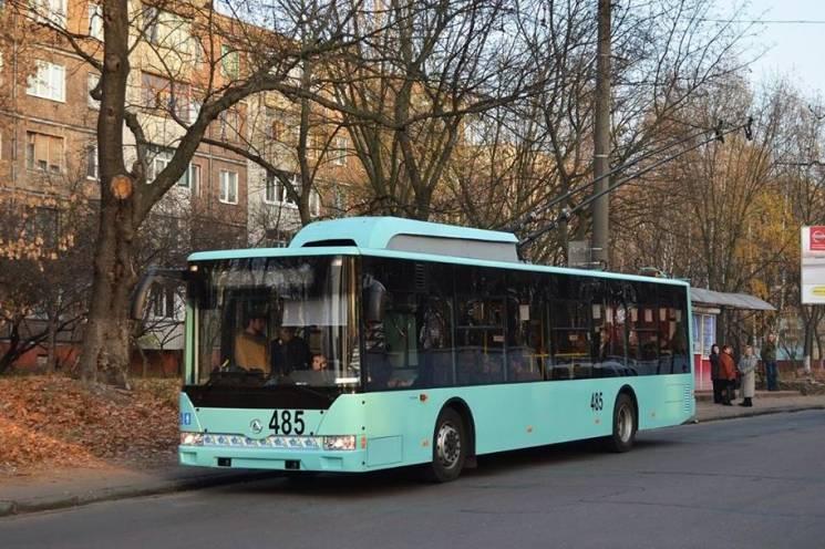Чернігівським школярам хочуть на гривню здешевити проїзд у тролейбусах