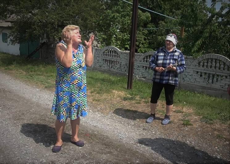 На Донбасі бойовики обстріляли будинки мешканців Миколаївки