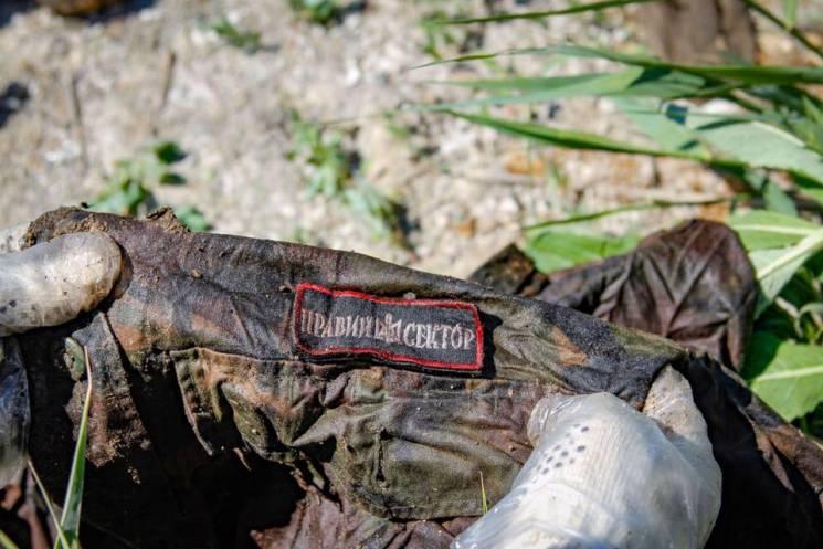 """""""Чорний тюльпан"""" повідомив подробиці знахідки: Десятки мішків з речами загиблих бійців (ФОТО)"""