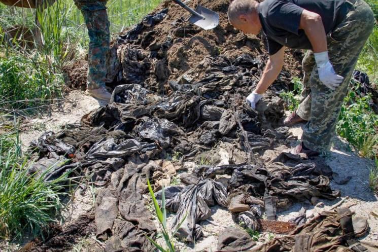 Поліція буде розслідувати неналежне зберігання речей 98 невпізнаних бійців, що загинули в АТО