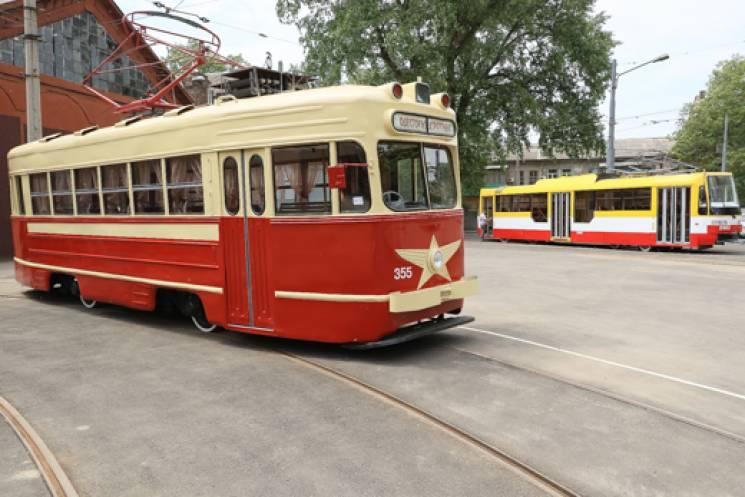 В Одесі відновили унікальний трамвай, якому понад 60 років (ФОТО)