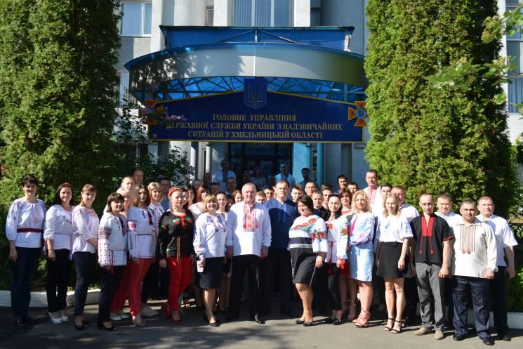 Рятувальники Хмельниччини поміняли форму (ФОТО)