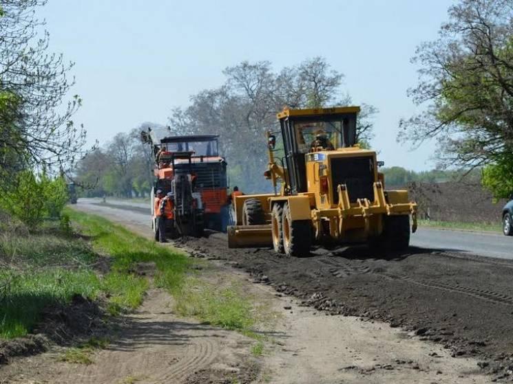 Дорожники показали результат роботи на трасі Полтава-Олександрія (ФОТО)