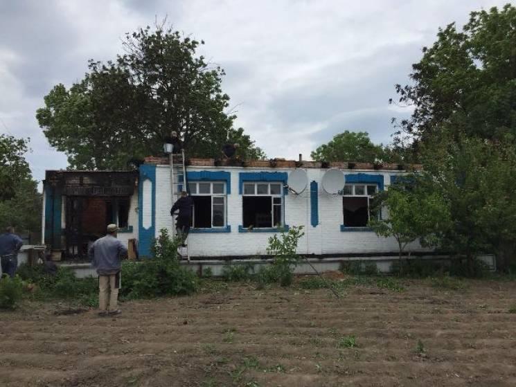 На Вінниччині згоріла хата в старости ОТГ (ФОТО)