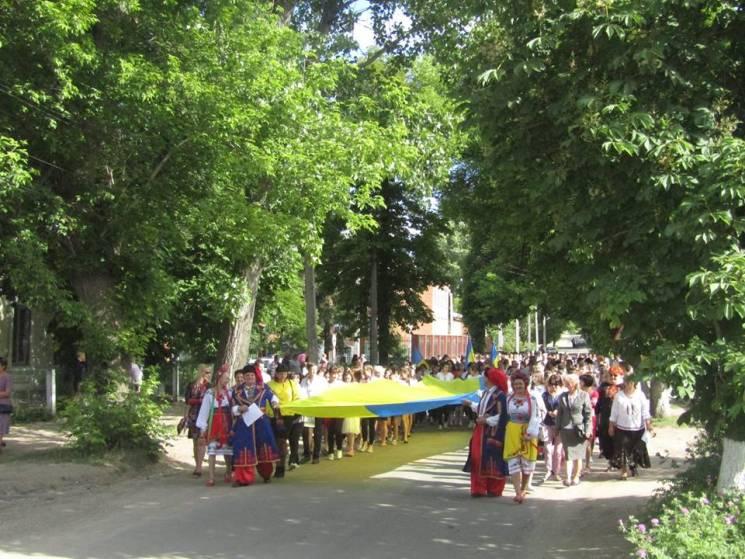 Жителі Ананьївського району відзначили день вишиванки святковою ходою (ФОТО)
