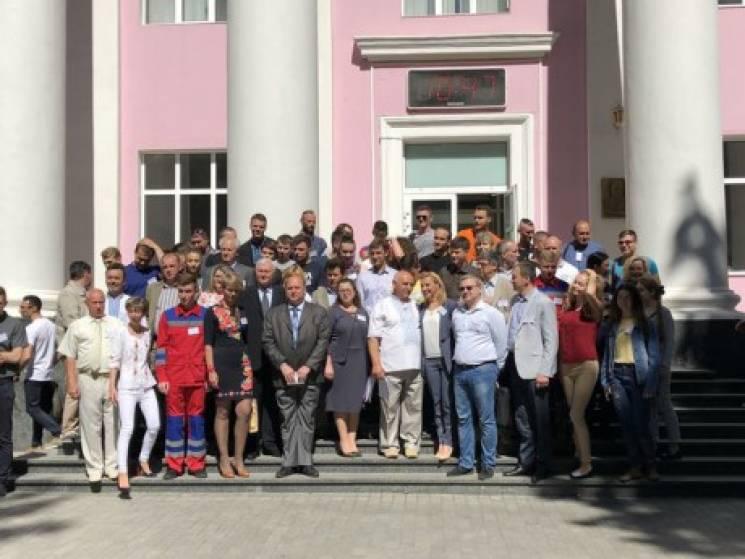 У Вінницю приїхали студенти медики з 14 вишів на олімпіаду з медицини катастроф