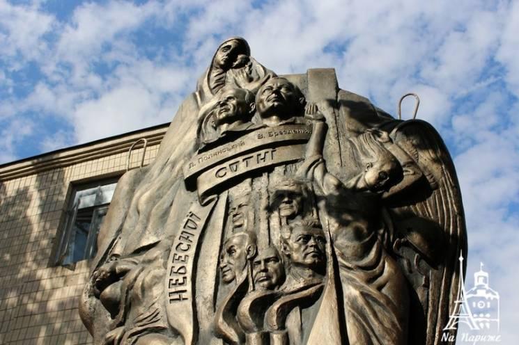 Вінницький скульптор завершив роботу над монументом Героям Небесної Сотні (ФОТО)