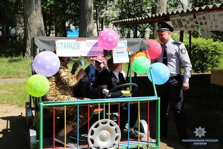 Як вінницька поліція проводила для дітей урок-гру (ФОТО)