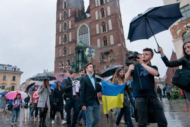 Як українці в Кракові День вишиванки святкували (ФОТОРЕПОРТАЖ)