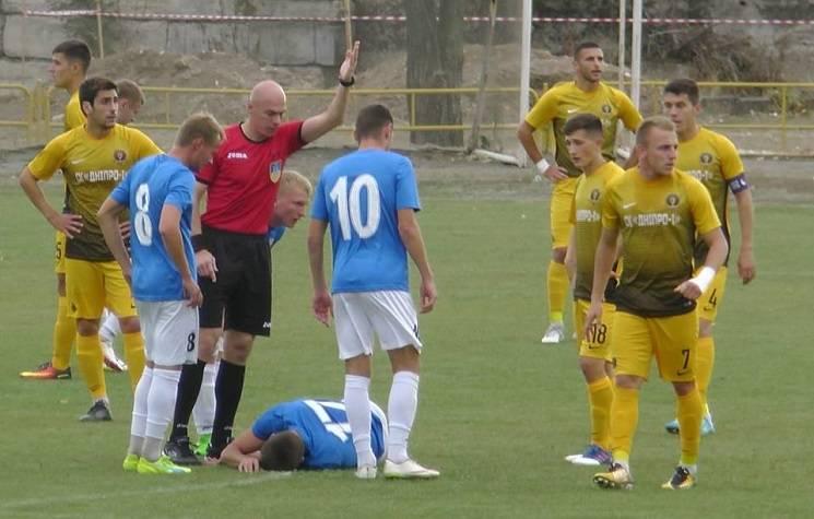 Стали відомі судді чергових матчів команд з Дніпра у другій лізі