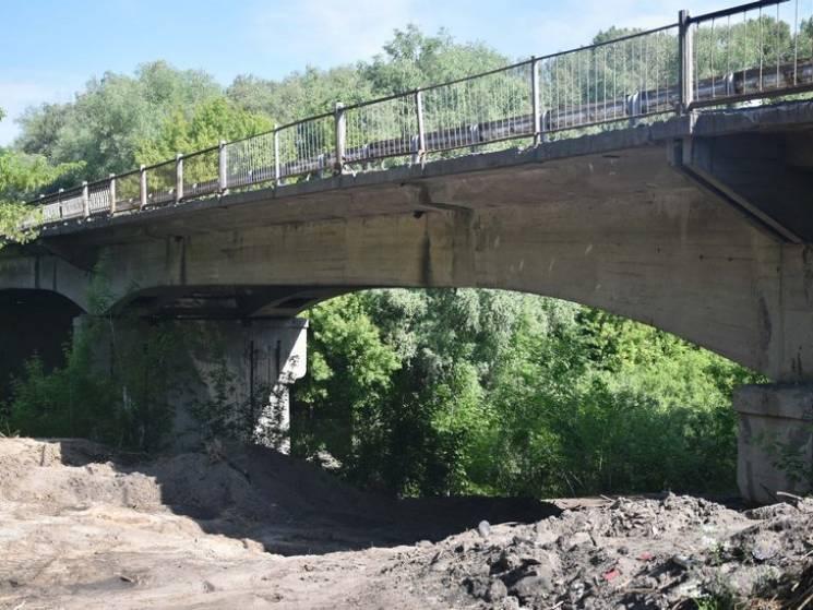 У Лубенському районі Полтавщини почали реконструкцію мосту через Сулу (ФОТО)