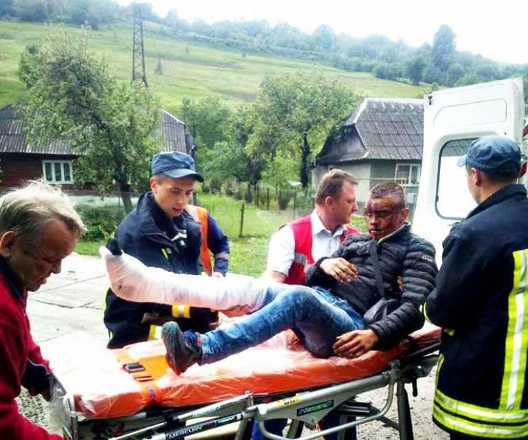Хлопця, що випав з поїзда, поліція підозрює у крадіжці (ФОТО)