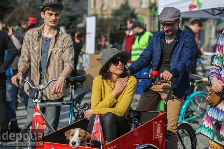 Через велодень у Києві обмежать рух транспорту
