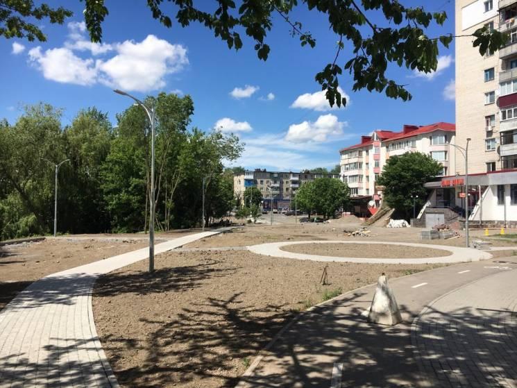 На околиці Вінниці створюють затишну зону відпочинку