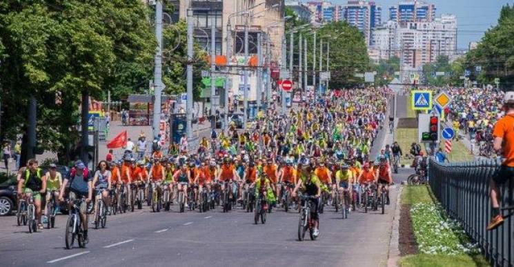 """""""Велодень"""" у Харкові: У місті назріває транспортний колапс (СХЕМИ РУХУ)"""