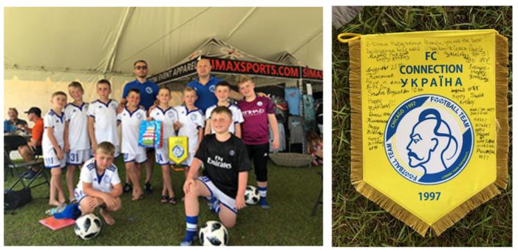 Юні українці з Чикаго виграли футбольний турнір у Флориді