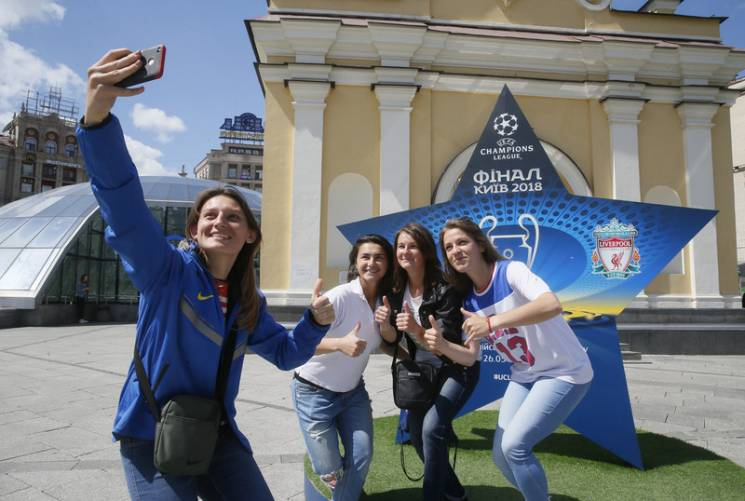 В очікуванні Ліги Чемпіонів: Як Київ живе футболом за декілька днів до фіналу