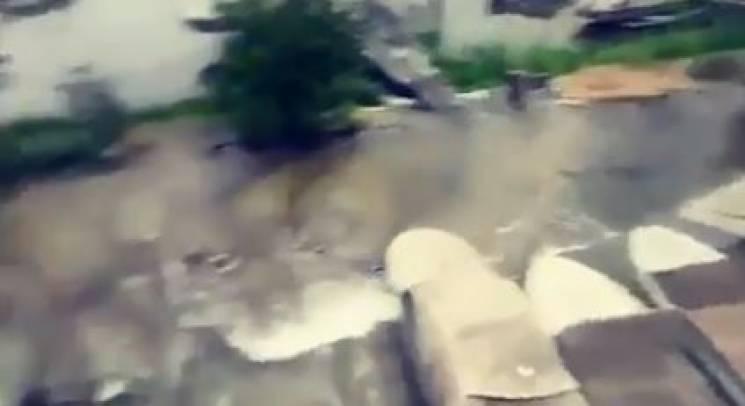 У Дніпрі потужна аварія на водогоні: Декілька районів без води (ВІДЕО)