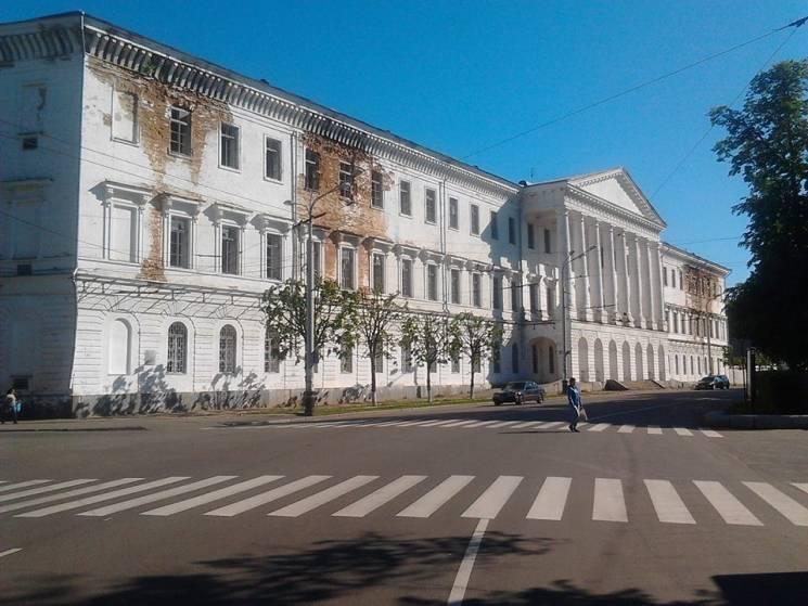Полтавський кадетський корпус може стати приміщенням Окружного суду