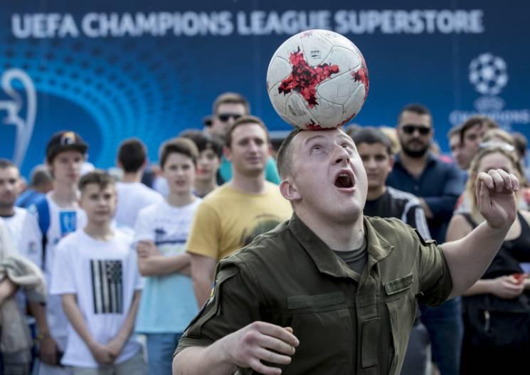 Що підготував Київ для вболівальників в день фінального матчу ЛЧ