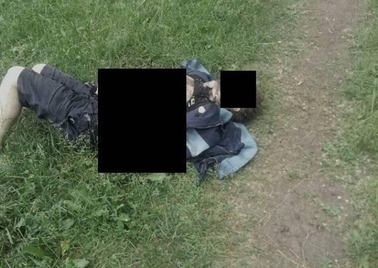 У Запоріжжі чоловік підірвав себе гранатою (ФОТО 18+)