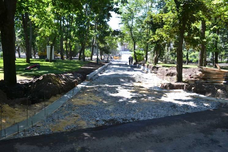 Чиновників Кернеса підозрюють у багатомільйонних крадіжках під час реконструкції саду Шевченка