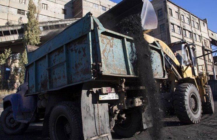 Украина договаривается с донбасскими боевиками о закупках угля