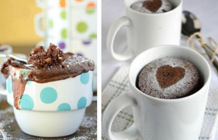 Кекс у мікрохвильовці за 2 хвилини: 10 р…