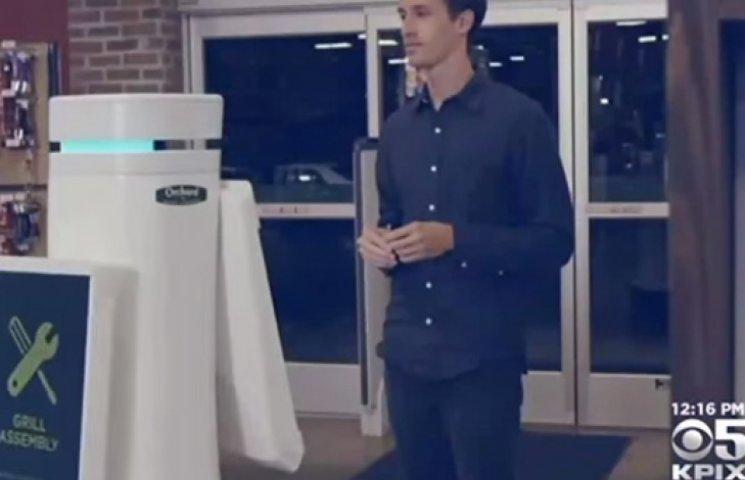 «Раби» в США: Гіпермаркети замінюють живих консультантів роботами