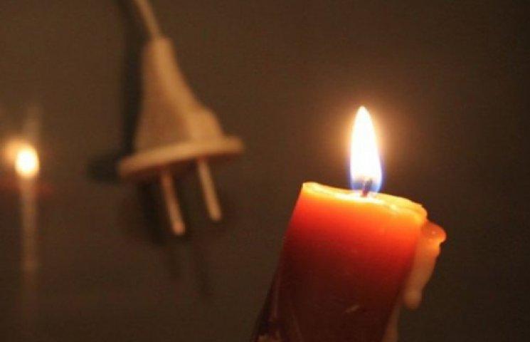 «ЛНР» вимкнули світло