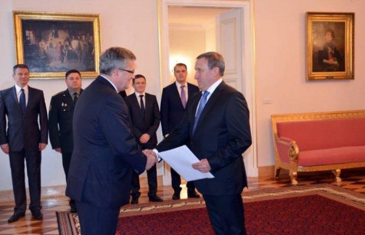 Дещиця приступив до роботи на посаді посла України в Польщі