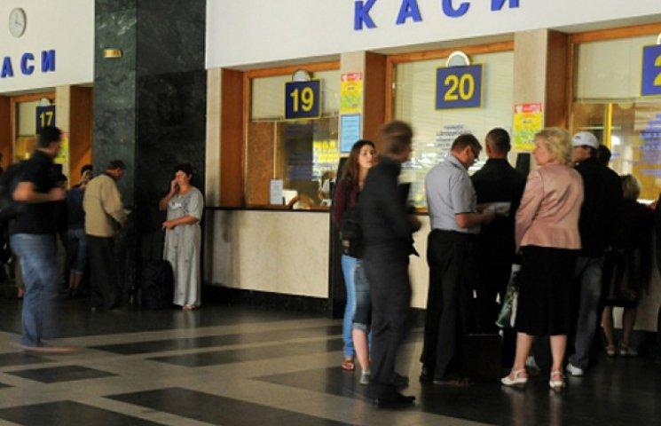 Билетная мафия в Киеве наживается на беженцах из зоны АТО