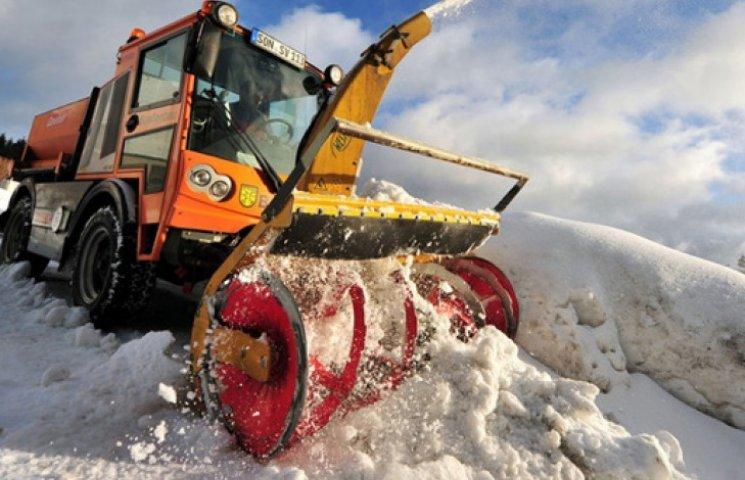 Кличко виклянчив у Німеччині снігоприбиральні машини за пільговою ціною
