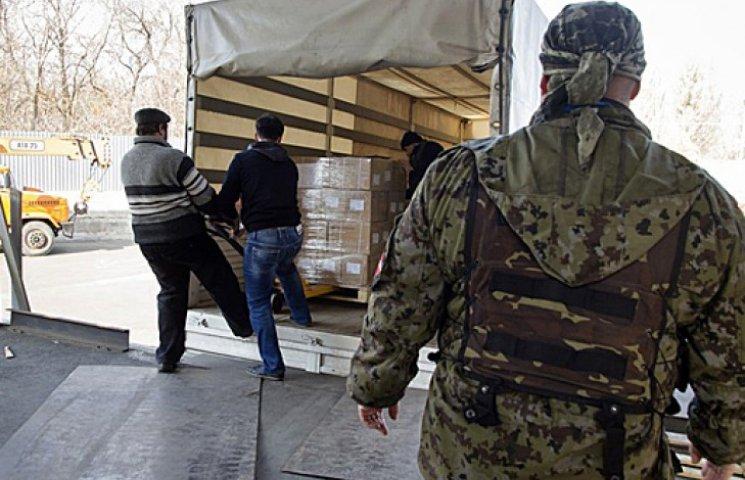 Фуры с российской «гуманитаркой» уже разгружаются в Донецке и Луганске