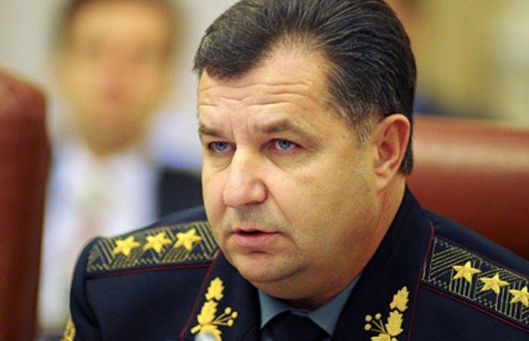 Министра обороны Полторака проверили на детекторе лжи. Отчитались, что удачно