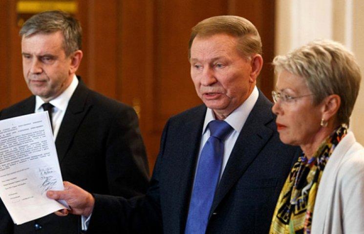 Кучма больше не видит смысла в минских переговорах
