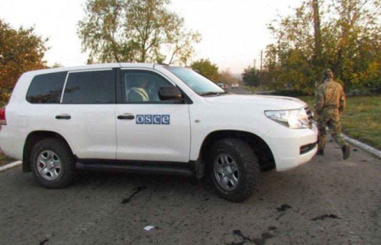 ОБСЕ пожаловалась, что их машины обстреляли с украинской территории