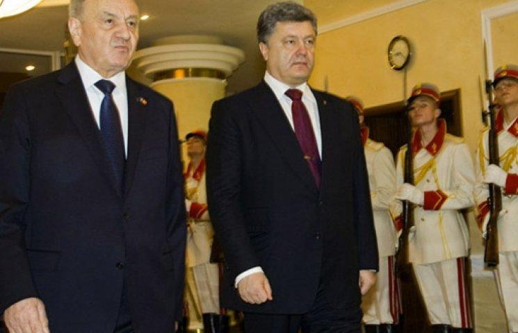 Порошенко в Кишиневе заявил, что хочет идти в ЕС вместе с Молдовой