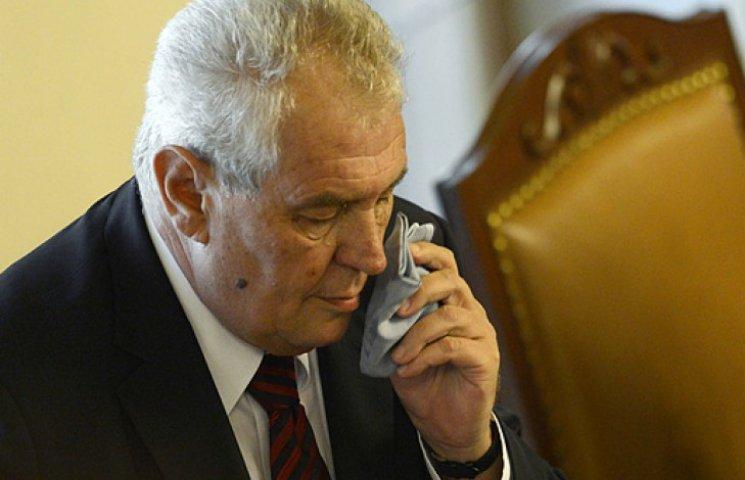 Одиозный президент Чехии в Казахстане ос…