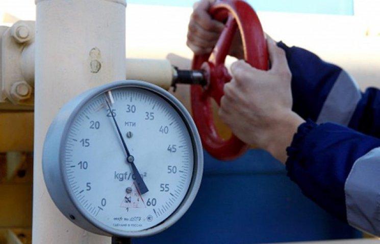 Украинские газовые хранилища пусты более чем наполовину