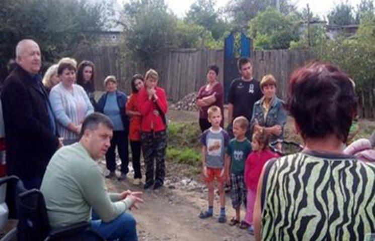 На Одещині мером міста став інвалід на візку