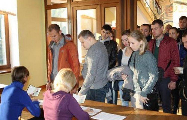 У Кременчуці завершується перший етап відбору до патрульної поліції