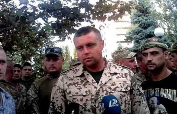 Правий сектор в Одесі не дозволив захопити комбата 28-ї бригади