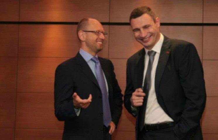 Кличко хоче перекласти борги Києва на Яценюка