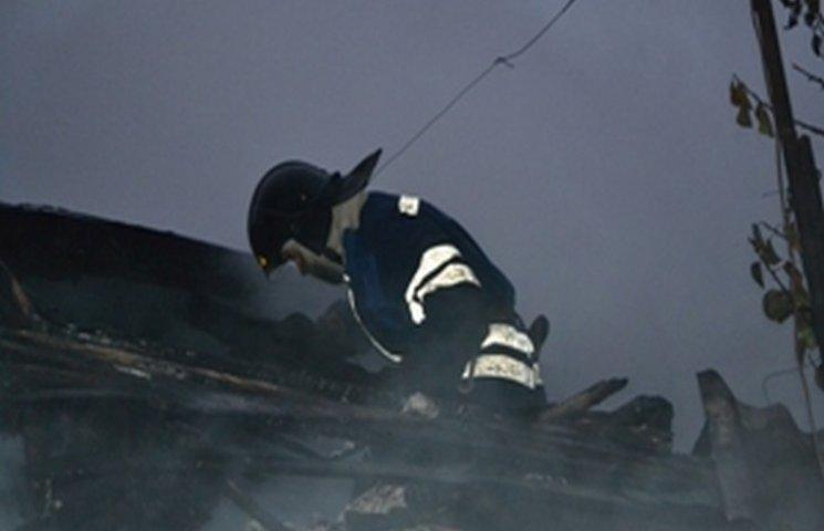 В Одесі ліквідували пожежу в приватному будинку