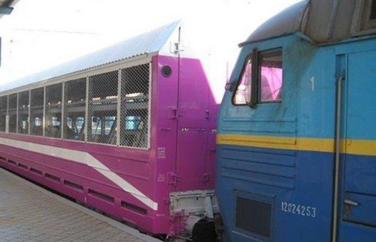 На Одеській залізниці з'явиться послуга перевезення авто пасажирським поїздом