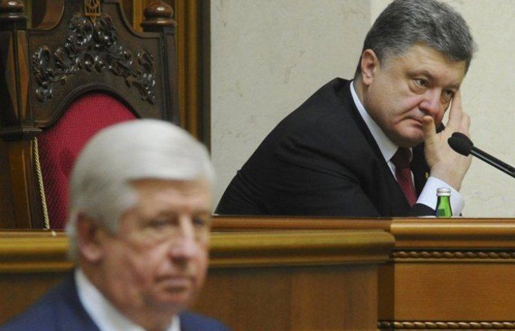 Как Порошенко пытался понравиться Европе и Шокина не обидеть